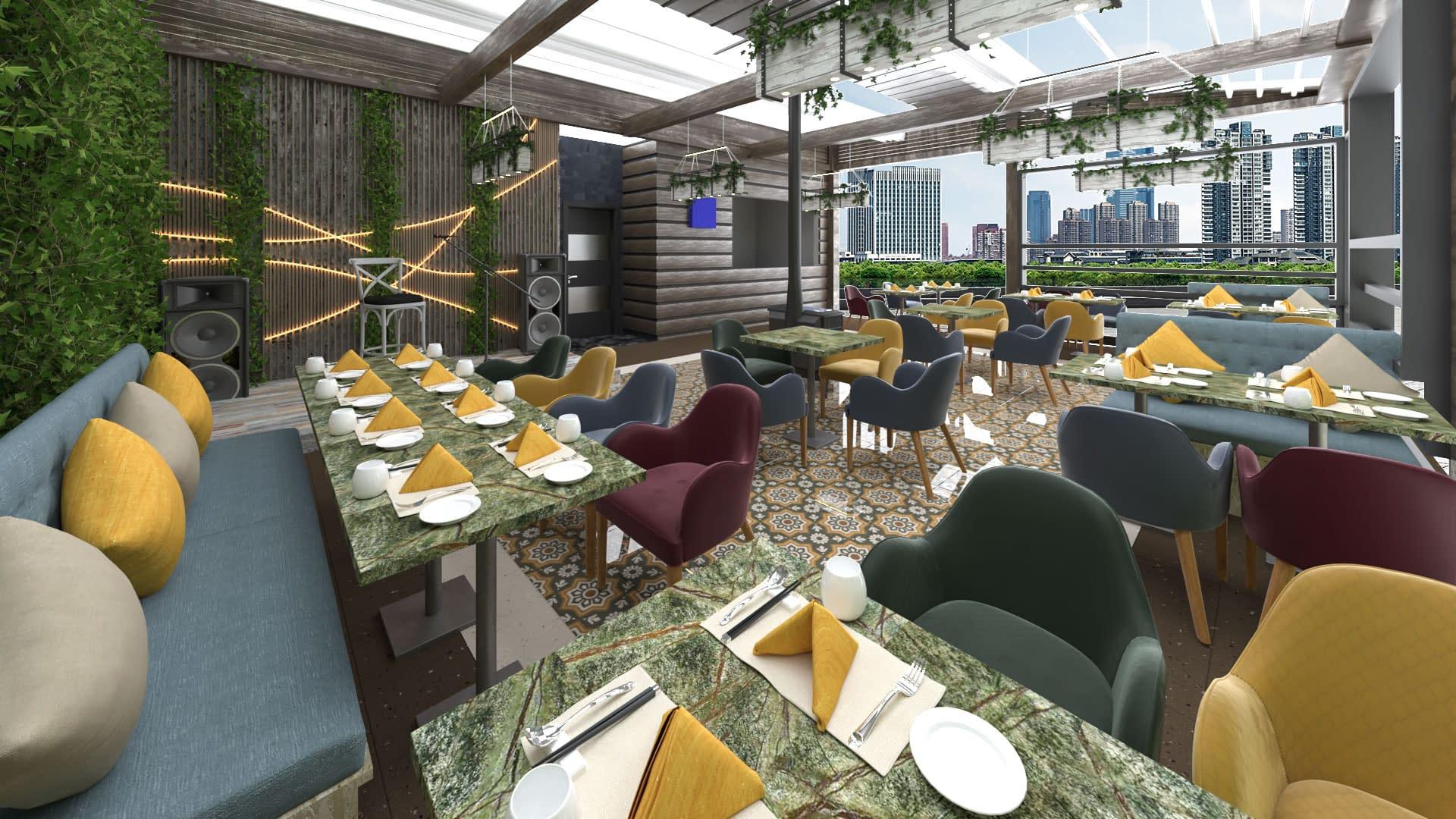 Cafe ve Restaurant Tasarımı